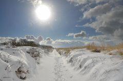 Winterliche Insel