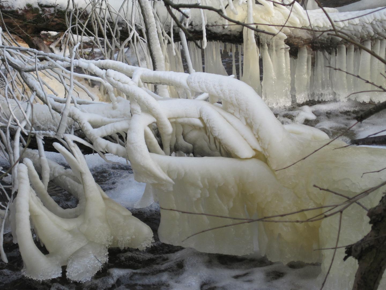 Winterliche Kunst.