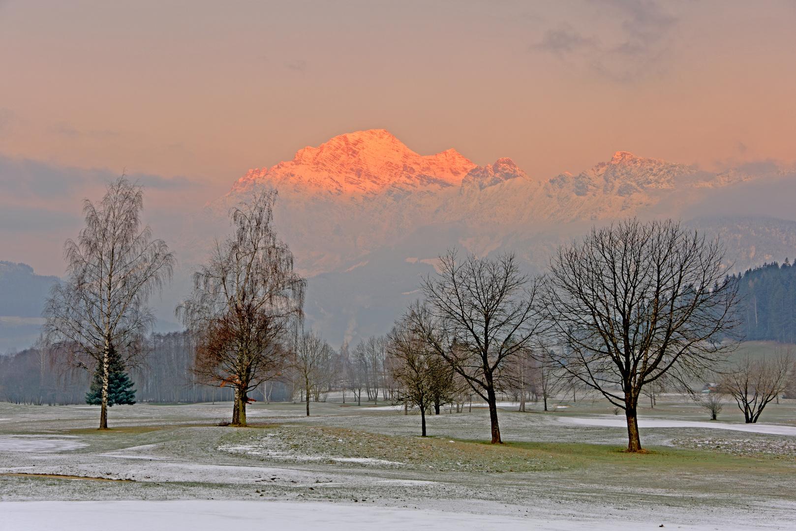winterliche morgenandacht
