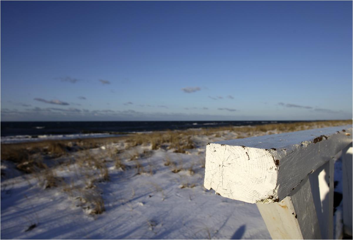 Winterliche Ostseeküste