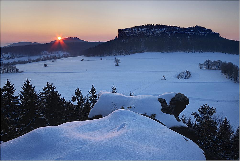 Winterliche Quirlaussicht