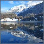 Winterlicher Davosersee...