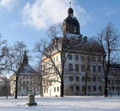 Winterlicher Friedenstein