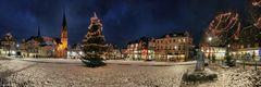 Winterlicher Olper Marktplatz -2-