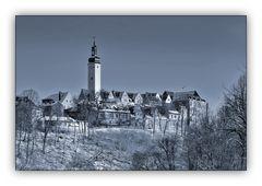 winterlicher Schlossblick