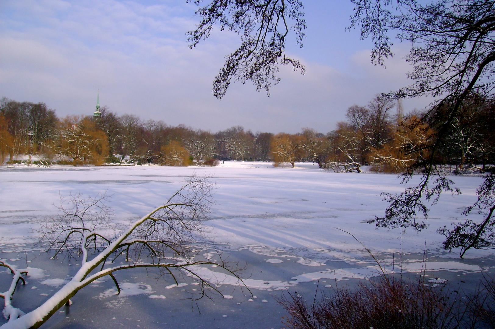 Winterlicher Schrevenpark