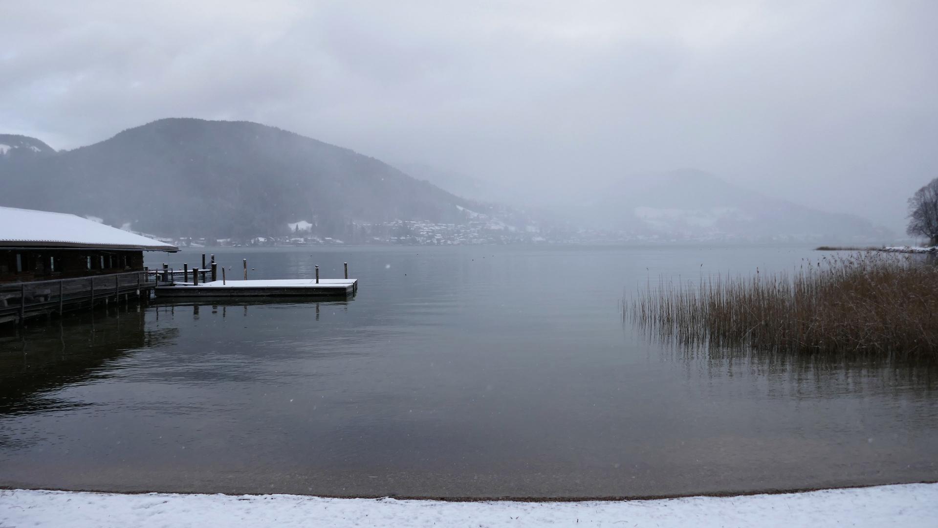 Winterlicher Tegernsee