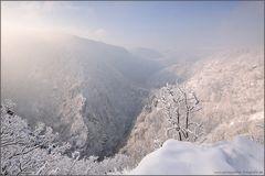 Winterliches Bodetal