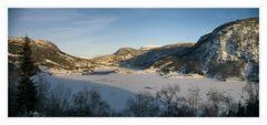 winterliches Fjordnorwegen