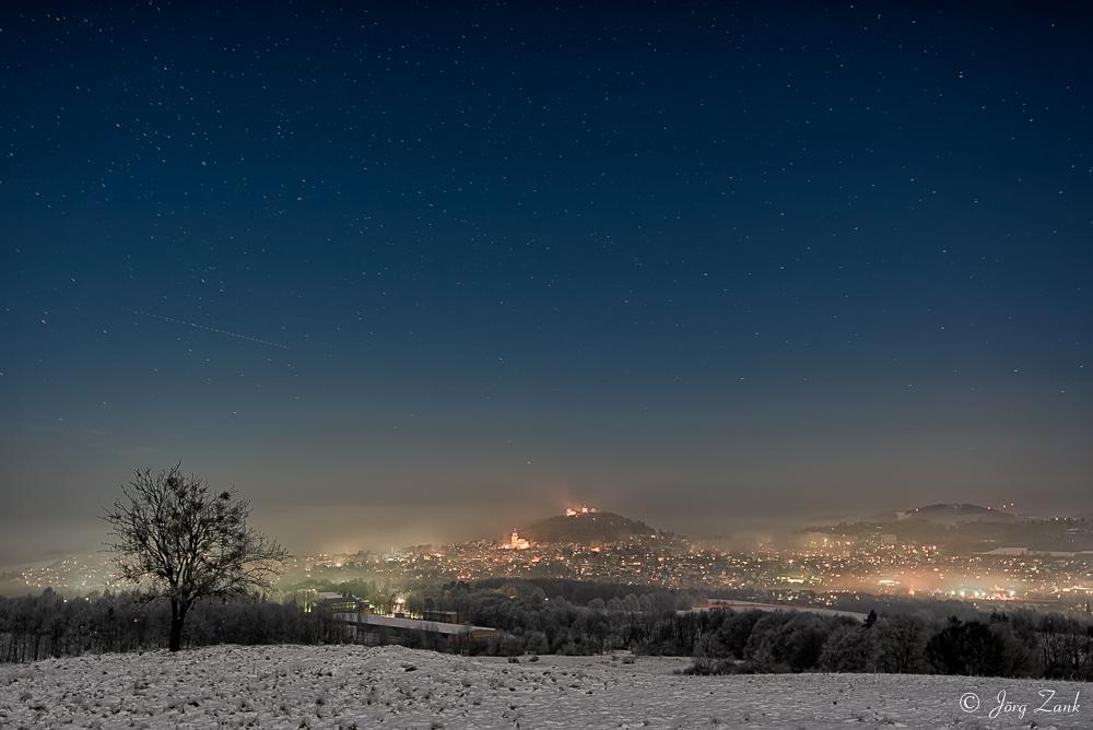 Winterliches Homberg im herrlichen Licht & Nebel