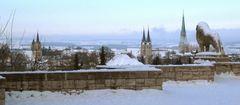 Winterliches Mühlhausen