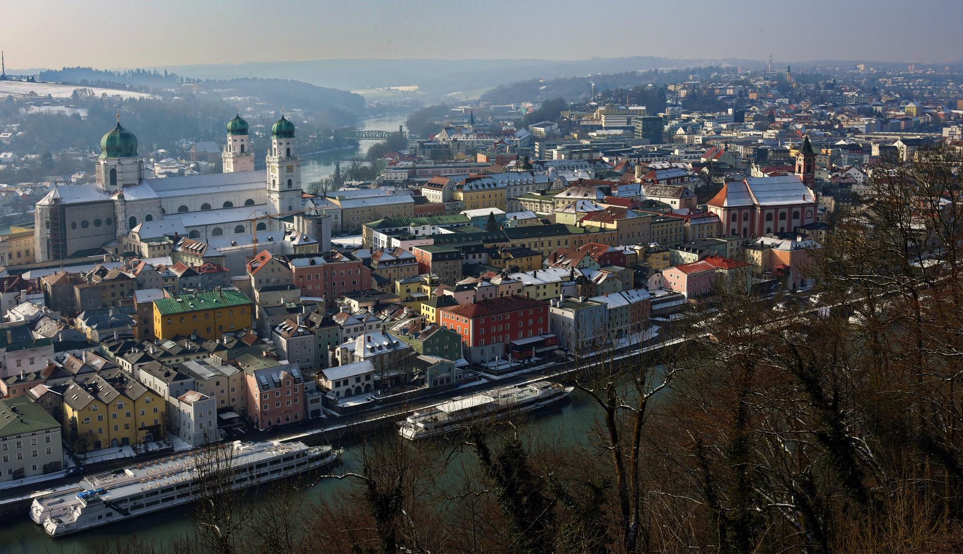 Winterliches Passau