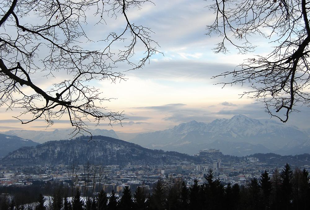 winterliches Salzburg