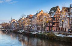 winterliches Straßburg