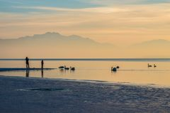 Winterlicht am Chiemsee