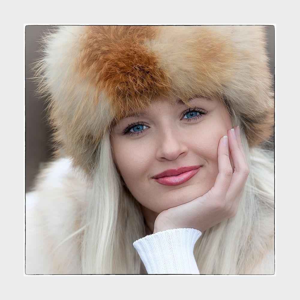 Wintermodel Gerüstet für die Kälte ;o)))