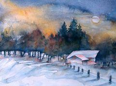 Wintermondnacht
