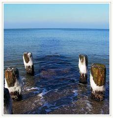 Wintermorgen am Meer
