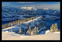Wintermorgen am Niederhorn