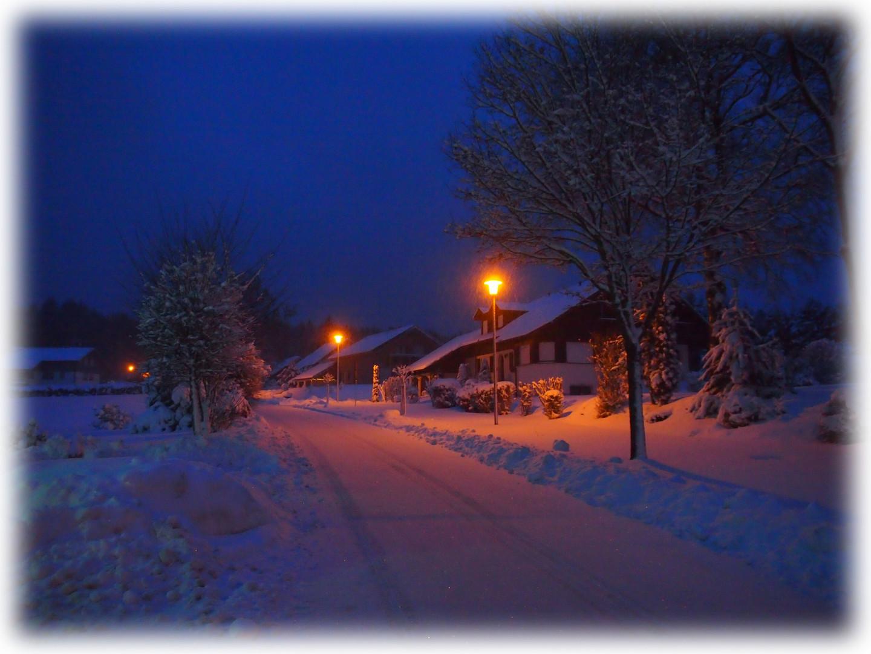 Wintermorgen am Waldsteinweg