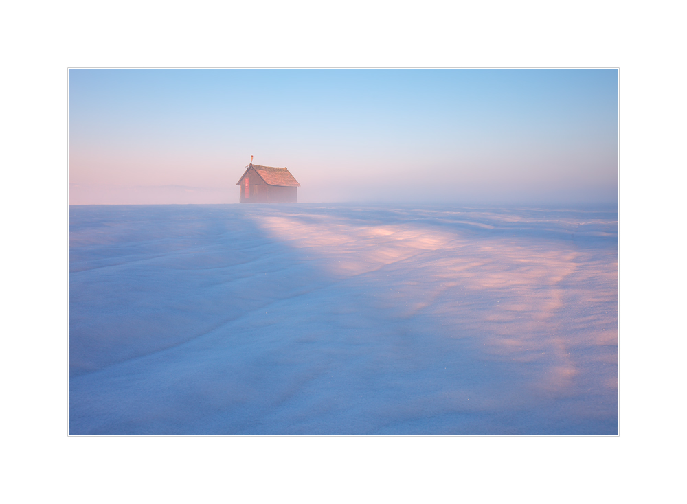 Wintermorgen in der Südsteiermark