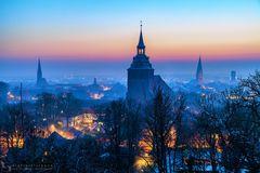 Wintermorgen in Lüneburg