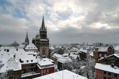 Wintermorgen über Aachen