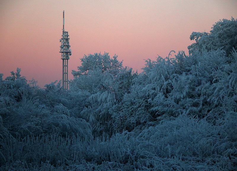 Wintermorgenröte
