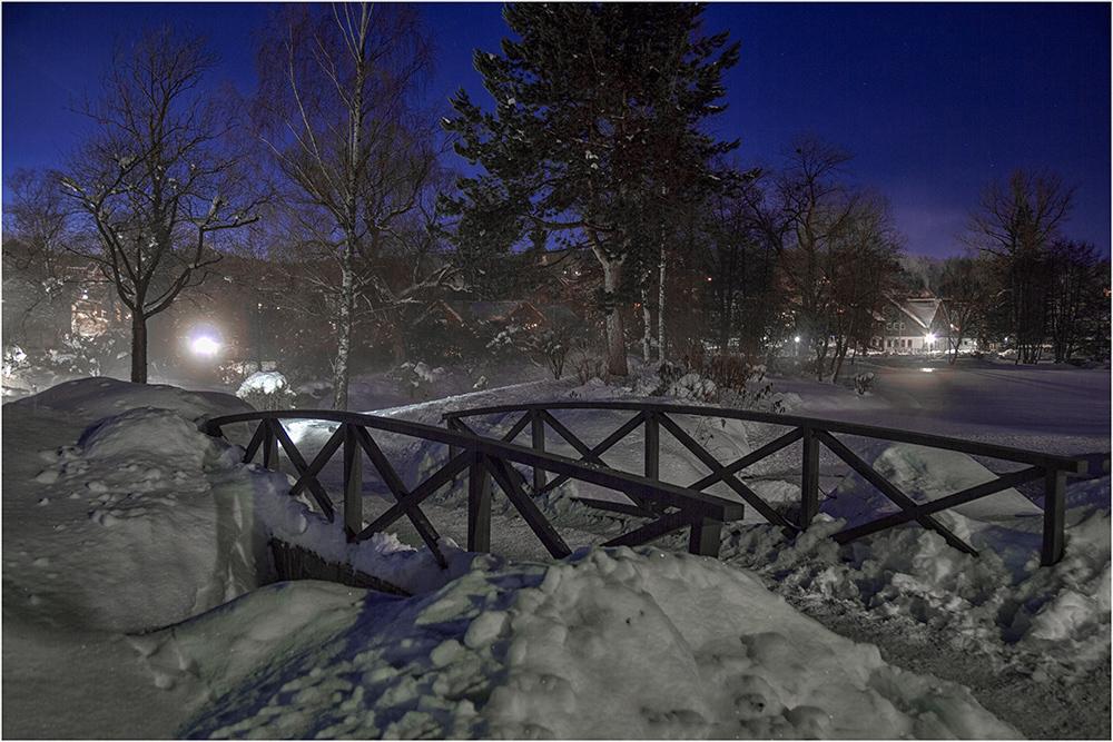 Winternacht in Braunlage