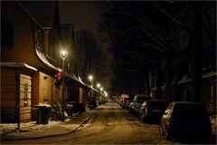 Winternacht in Frankfurt