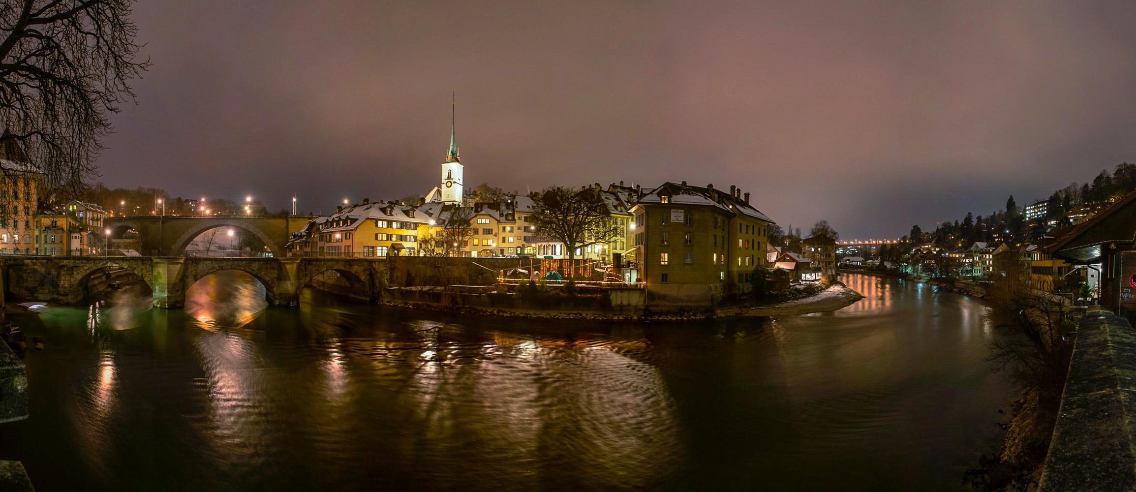 Winternight in Bern