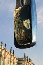 Winterpalast im Spiegel