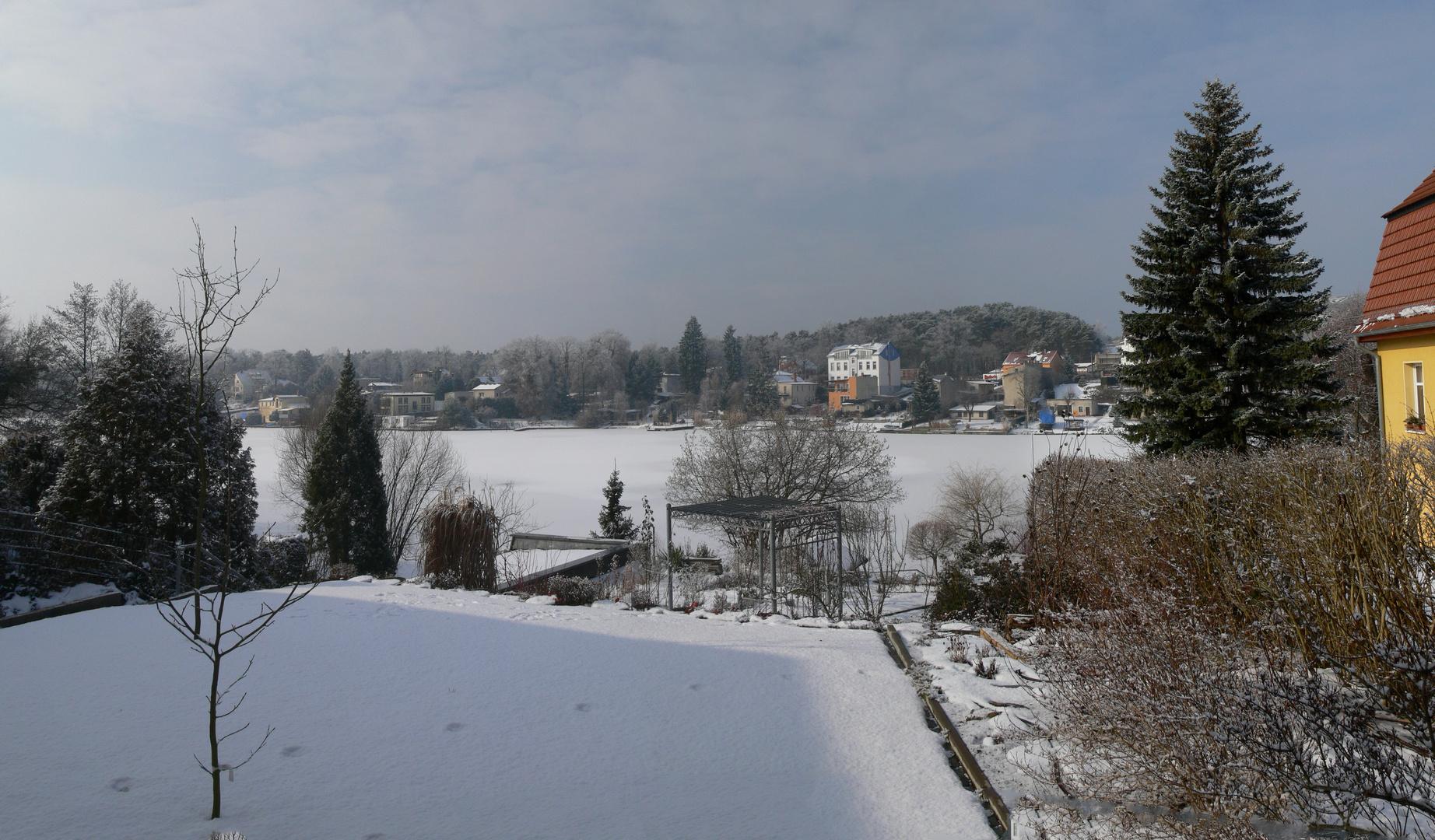 Winterpanorama Flakensee