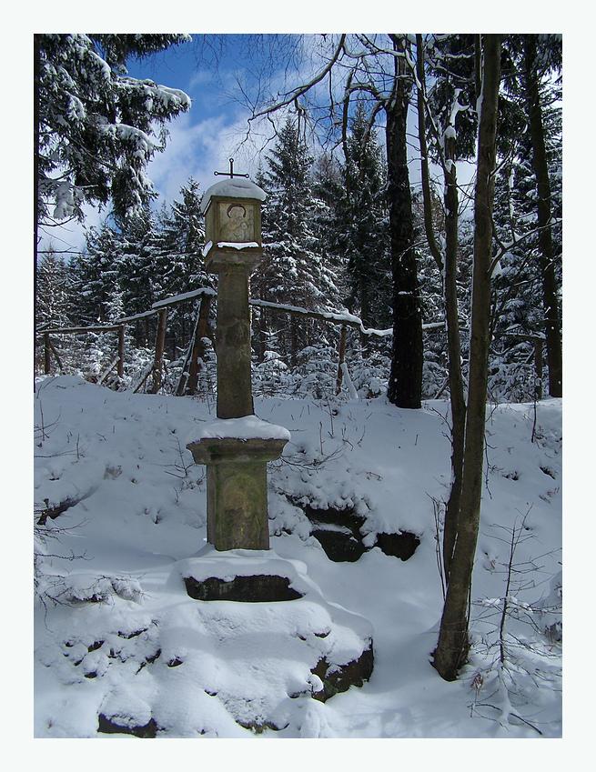 Winterpracht in der Osterzeit