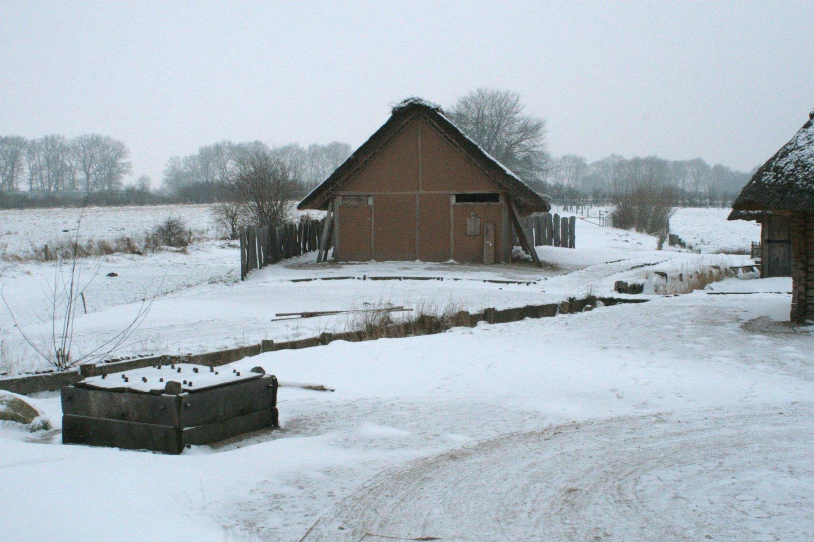 Winterruhe in Haithabu