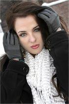 Wintershooting mit Inna