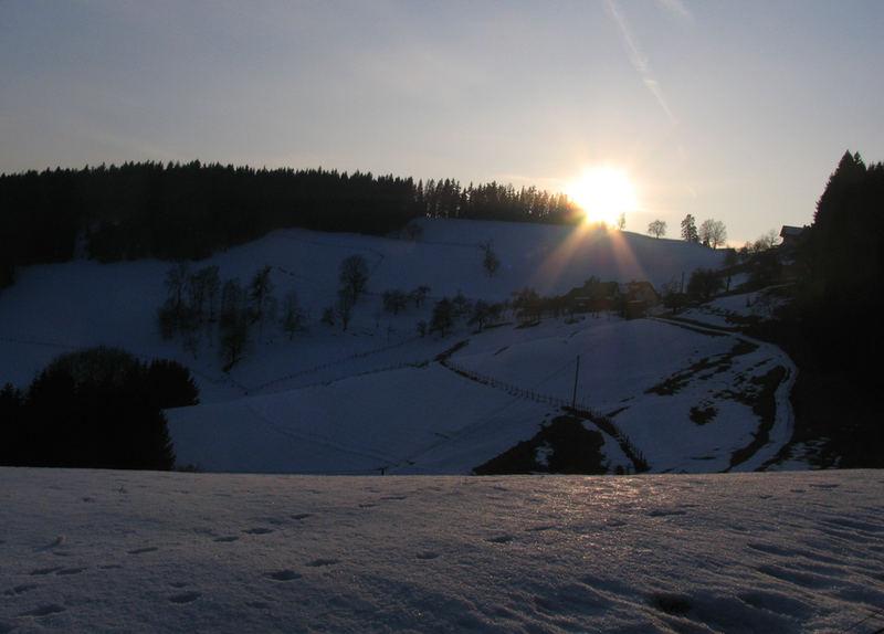Wintersonne #5