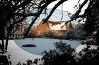 Wintersonne im Kloster