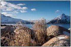 Wintersonne in Rekvik
