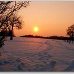 Wintersonnenstrahlen