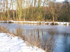 Winterspaziergang an der Nette
