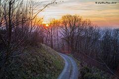 Winterspaziergang auf dem Jägerweg (Kappelwindeck bei Bühl Baden)