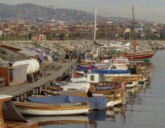 Winterstille am Hafen II