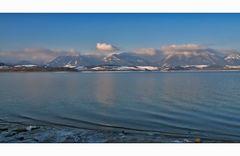 Winterstille beim See