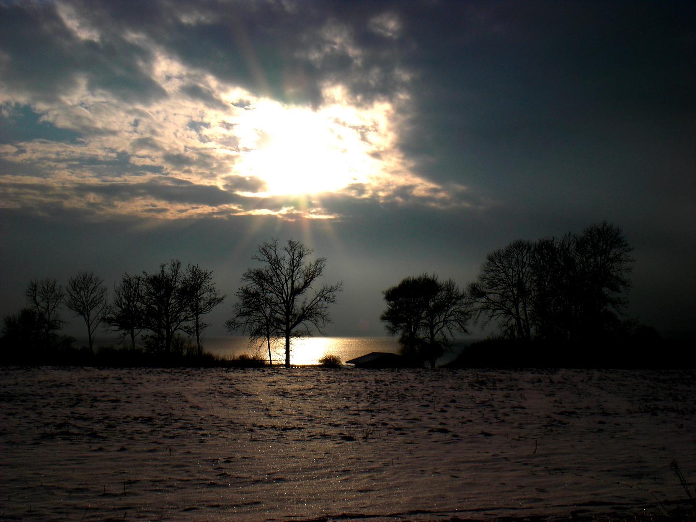 Winterstimmung am Chiemsee
