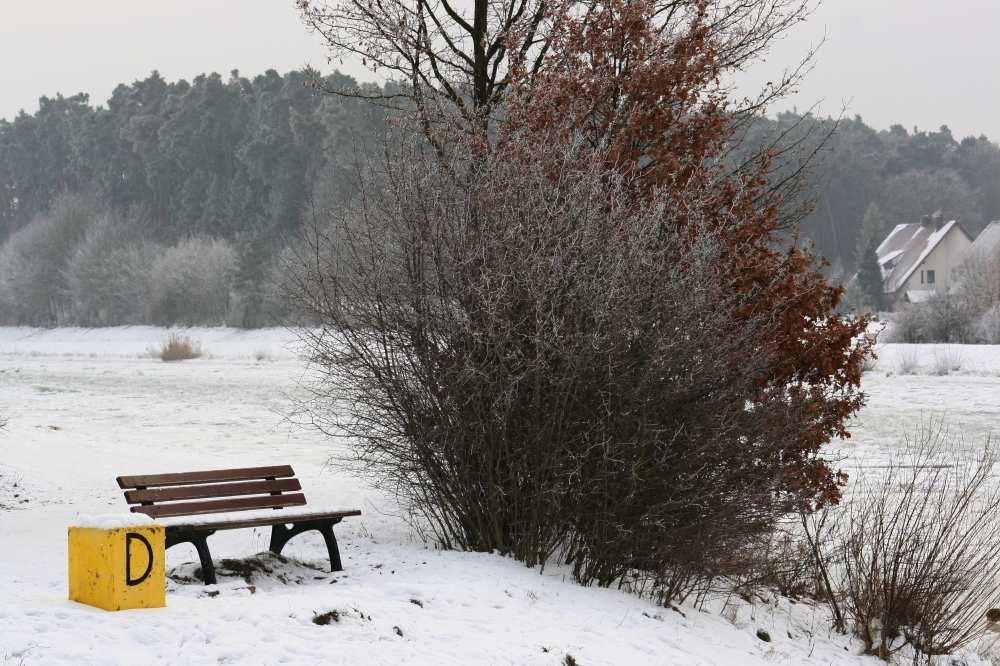 Winterstimmung am Main-Donaukanal