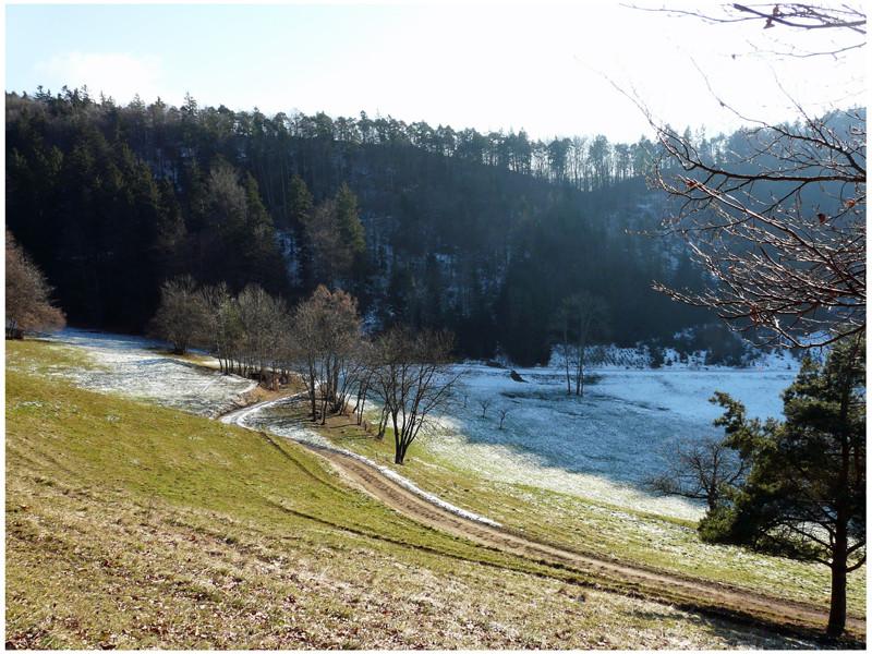 Winterstimmung im Jura