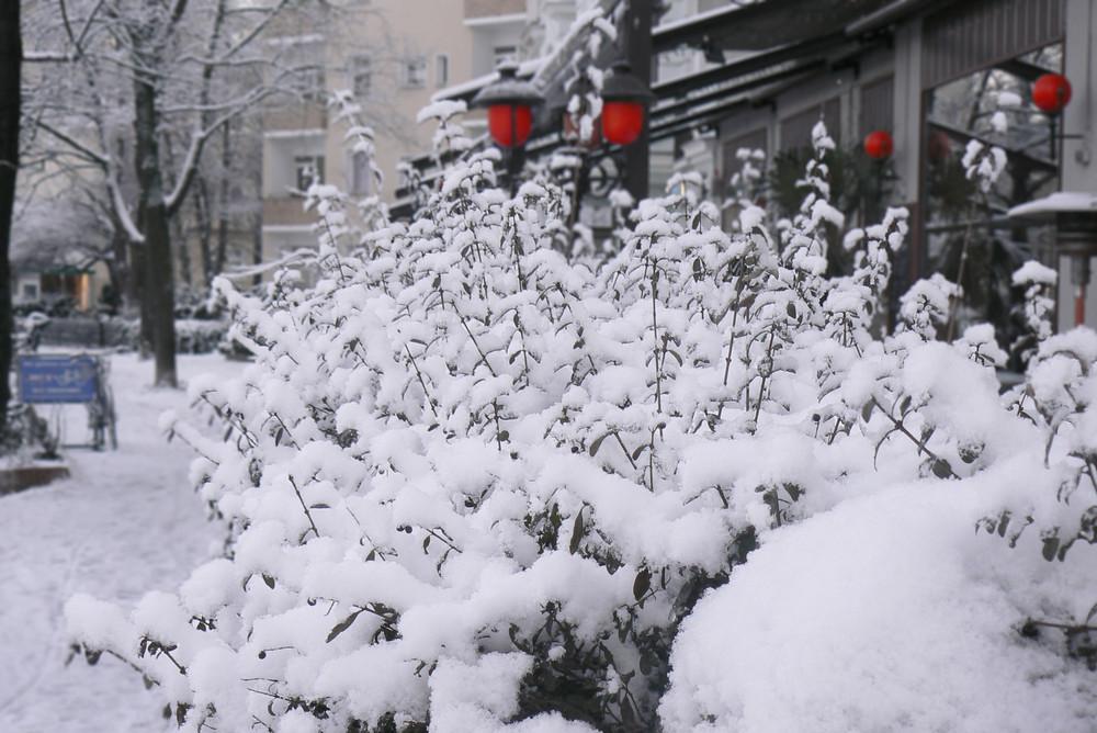 Winterstimmung in Berlin
