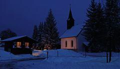 Winterstimmung in einem Hotzenwald-Dorf