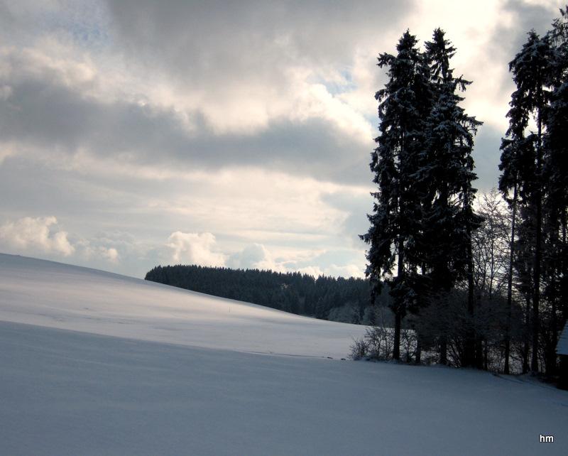 Winterstimmung in Valleray